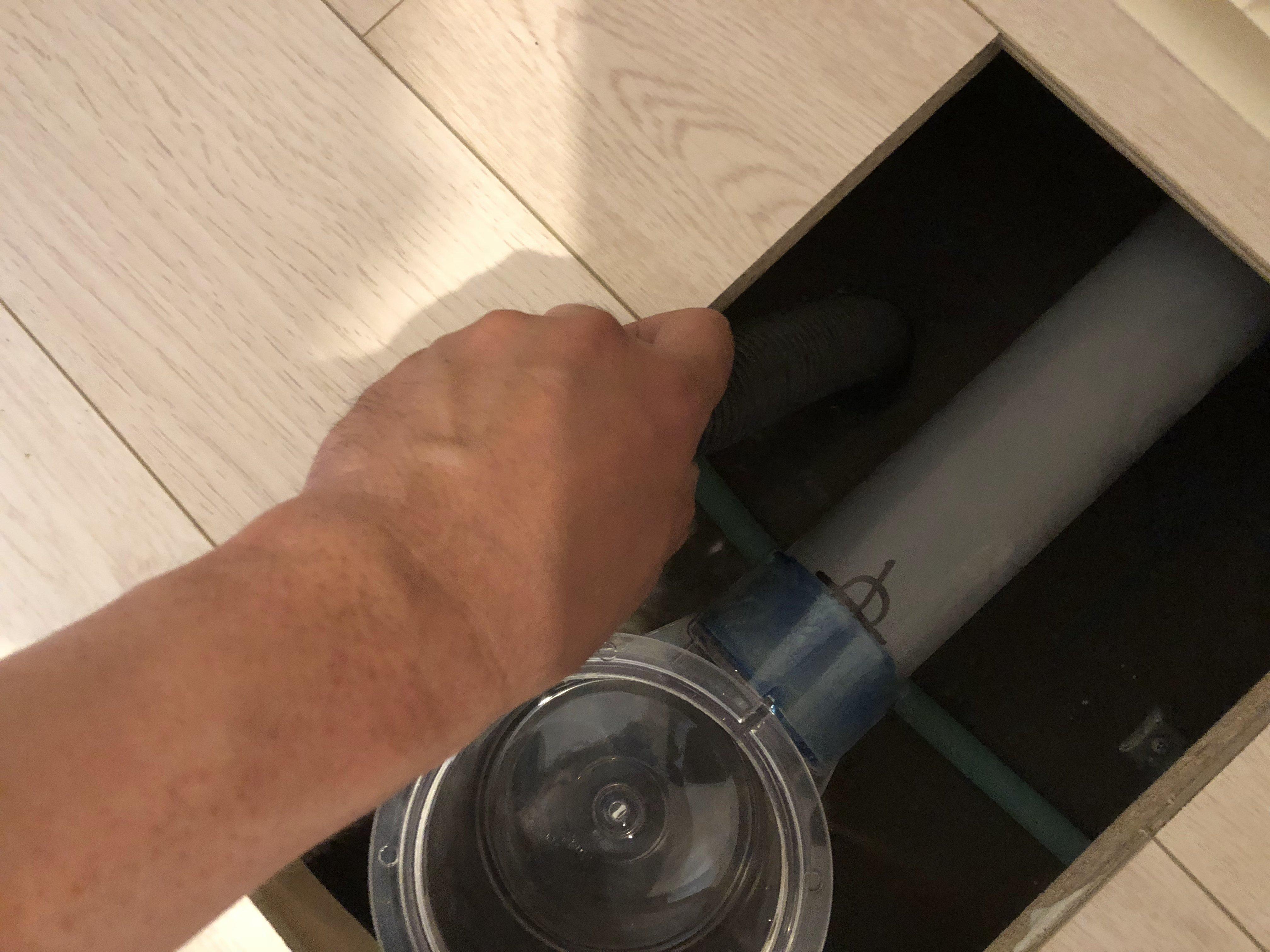近所での漏水案件